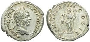 Geta (209-212), Denarius, Rome, AD 211; AR ...