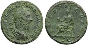 Macrinus (217-218), Sestertius, Rome, ...