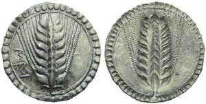 Lucania, Metaponto, Statere, c. 540-510 ...