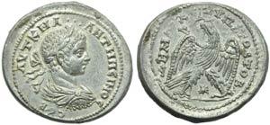 Elagabalus (218-222), Tetradrachm, Syria: ...