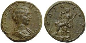 Julia Maesa (Elagabalus, 218-222), As, Rome, ...