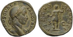 Severus Alexander (222-235), Sestertius, ...
