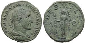 Maximinus I (235-238), Sestertius, Rome, AD ...