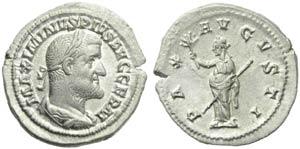 Maximinus I (235-238), Denarius, Rome, AD ...