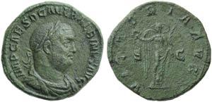 Balbinus (238), Sestertius, Rome, April - ...