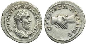 Pupienus (238), Antoninianus, Rome, April - ...