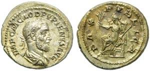 Pupienus (238), Denarius, Rome, April - June ...