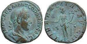 Gordian III (238-244), Sestertius, Rome, AD ...