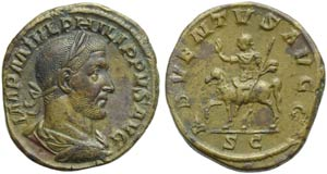 Philip I (244-249), Sestertius, Rome, AD ...