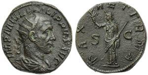 Philip I (244-249), Dupondius, Rome, AD ...