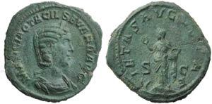 Otacilia Severa (Philip I, 244-249), ...
