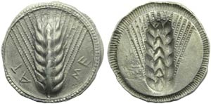 Lucania, Metapontion, Stater c. 540-510 BC; ...