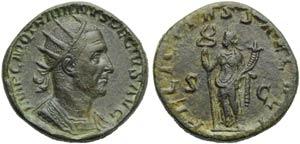 Trajan Decius (249-251), Double Sestertius, ...