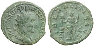 Trajan Decius (249-251), Dupondius, Rome, AD ...