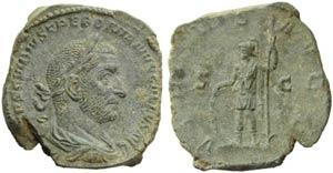 Trebonianus Gallus (251-253), Sestertius, ...