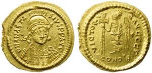Ostrogoths, Theoderic (493-526), Solidus ...