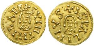Visigoths, Swinthila (621-631), Tremissis, ...