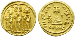 Heraclius with Heraclius Constantine and ...