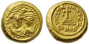 Heraclius with Heraclius Costantinus ...