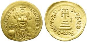 Constans II (641-668), Solidus, Syracuse, AD ...