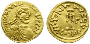 Constans II (641-668), Tremissis, Syracuse, ...