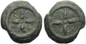 Etruria, Uncertain mint, Cast Uncia, 3rd ...