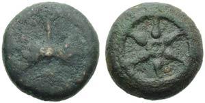 Etruria, Uncertain mint, Quartuncia, 3rd ...