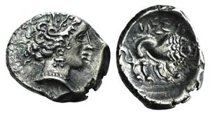 Gaul, Southern. Insubres(?), 1st century BC. ...