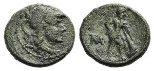 Southern Apulia, Mateola, c. 210-150 BC. Æ ...
