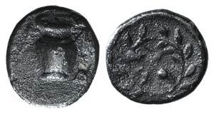 Southern Apulia, Tarentum, c. 450-380 BC. AR ...