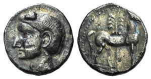 Spain, Punic Iberia, c. 237-209 BC. AR ...