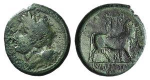 Samnium, Teanum Sidicinum, c. 265-240 BC. Æ ...