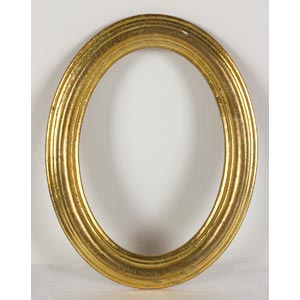 Cornice ovaleLuce: 18 x 13 cm; ingombro: ...