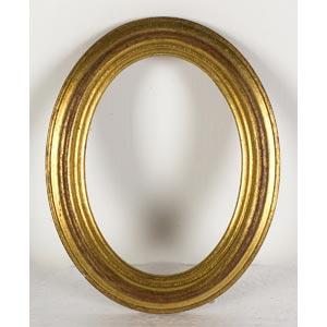 Cornice ovaleLuce: 11,5 x 9 cm; ingombro: ...