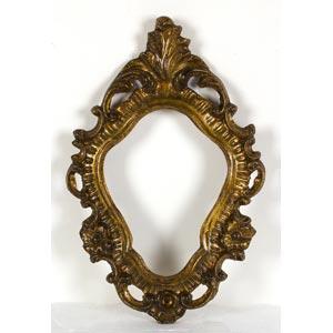 Cornice in stile Luigi XVLuce: 19 x 15 cm; ...