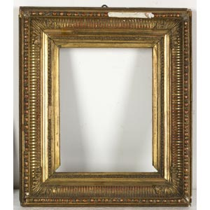 Cornice in pastiglia dorataLuce: 14 x 11 cm; ...