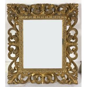 Cornice in stile BaroccoLuce: 30 x 24,5 cm; ...