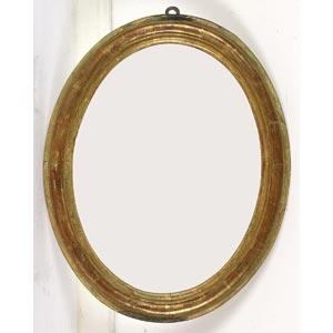 Cornice ovaleLuce: 46,5 x 35,5 cm; ingombro: ...