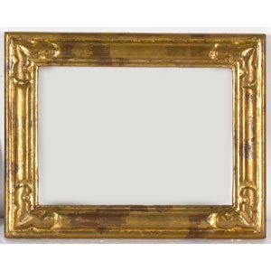 Cornice in legno doratoLuce: 17 x 22 cm; ...