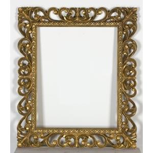 Cornice in stile BaroccoLuce: 50,3 x 40 cm; ...