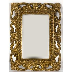 Cornice in stile BaroccoLuce: 13,5 x 8,5 cm; ...