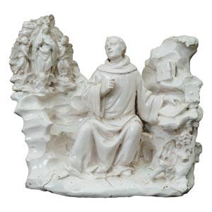 Vision of St. Bernard ...