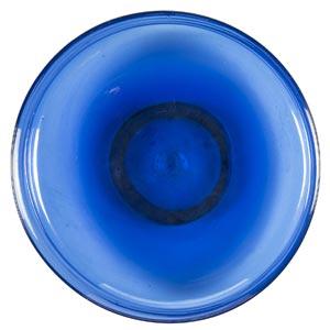 MVM - MURANOBowl in iridescent blue glass, ...