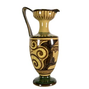 PALAZZI/I.D.A. - ROMETwo amphoras decorated ...