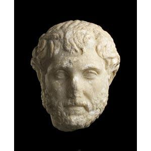 Ritratto di Antonino Pioca. 140 d.C.; alt. ...