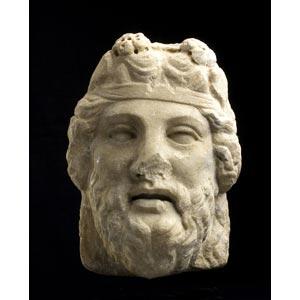 Testa di DionisoI – II secolo d.C.; alt. ...