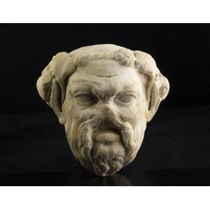 Testa di silenoI – II secolo d.C.; alt. cm ...