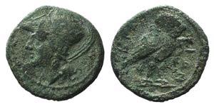Bruttium, The Brettii, c. 215-205 BC. Æ ...
