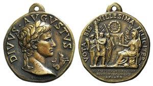 Italy, Augustus' Bimillennium Copper ...
