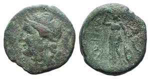 Bruttium, Lokroi Epizephyrioi, c. 287-278 ...